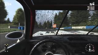 Next Car Game: Wreckfest - Cockpit View Camera Gameplay (PC HD) [1080p]