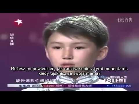 Niesamowity i poruszający występ w chińskim Mam talent