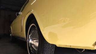 1964 mustang yellow for sale at www coyoteclassics com