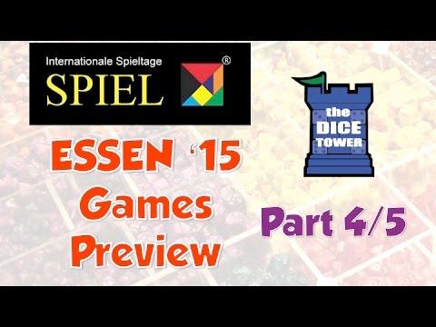 Essen Spiel 2015 Games Preview - Part 4/5