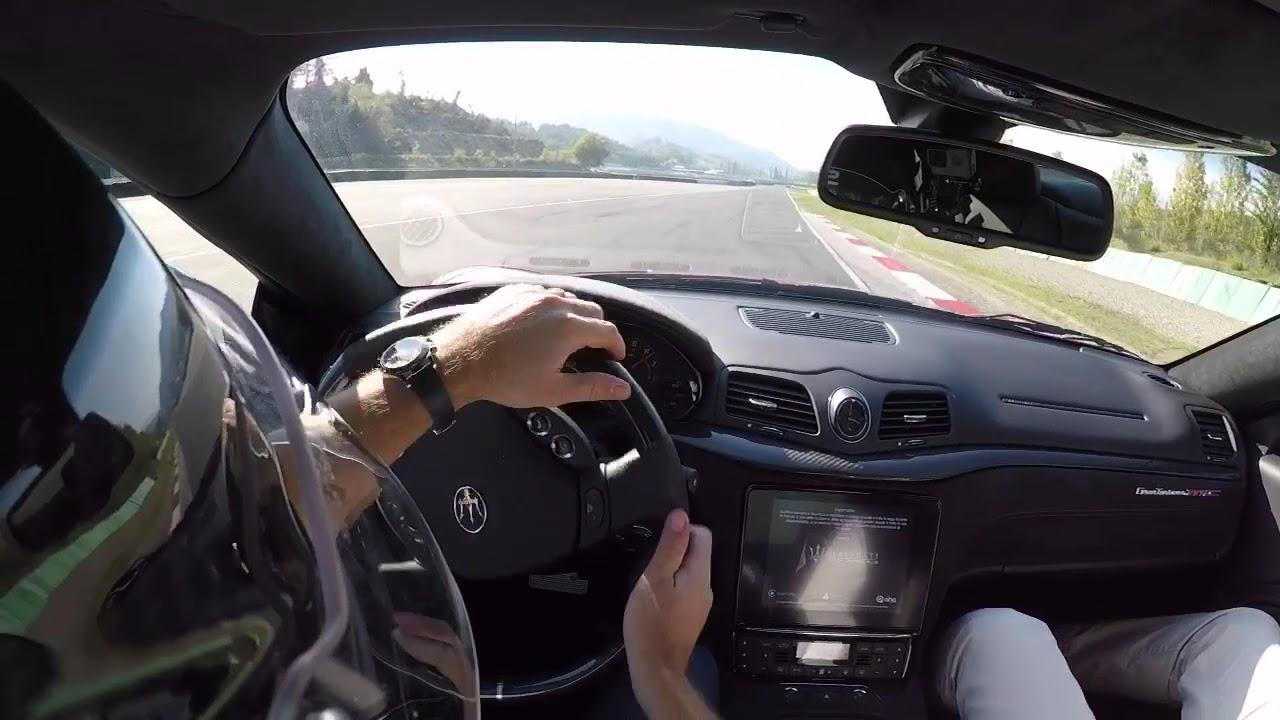 Maserati Granturismo MC 2018 Powersliding on Circuit