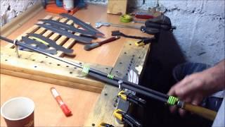 TomP Knifemaking - Knifemaking dla opornych: Wyprowadzanie szlifów/Jig z litej sosny