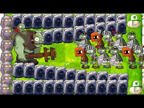 GARGANTUAR vs All Zombies in Plants vs Zombies 2 Epic Challenge Max Levels