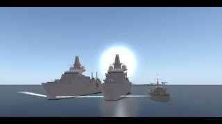 Roblox-Royal Navy Surface Fleet Recruitment video!