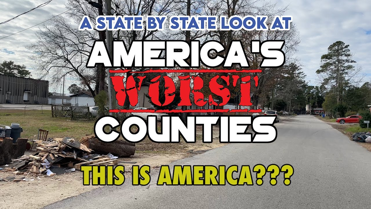 Here is the Worst County in Every Single State in America. It's very sad.
