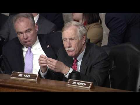 Senate Armed Services Hearing with EUCOM Commander