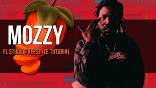 Making A Mozzy Type Beat - FL Studio Freestyle Tutorial