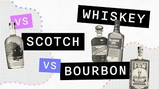 Difference between Whiskey, Sc๐tch & Bourbon