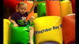 First Day Of Potty Training | VLOGTOBER Day 5