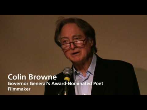 Colin Browne - Fred Wah and Friends Poetry Reading; Vancouver, BC Canada (part 2 of 7)