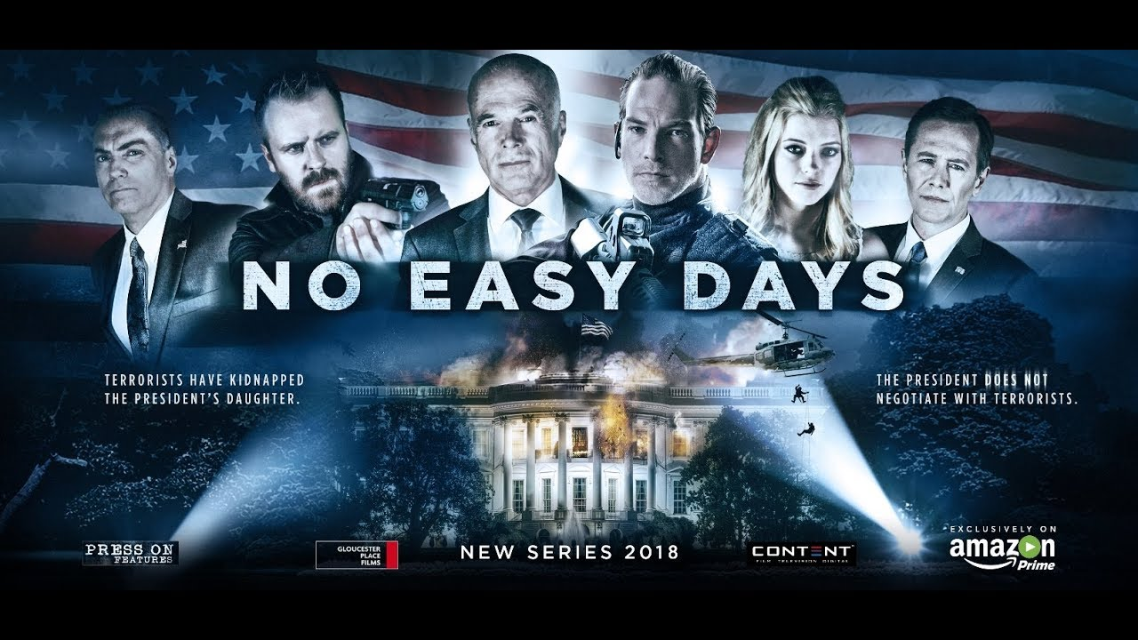 NO EASY DAYS Official Trailer (2018) Exclusively on Amazon Prime