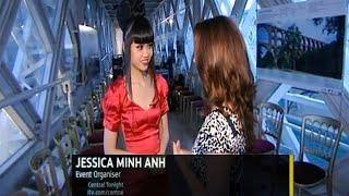 ITV (UK): Jessica Minh Anh made history on London Tower Bridge
