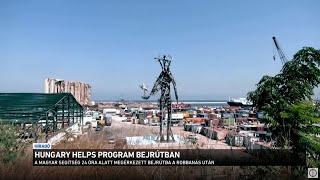 Hungary Helps program Bejrútban