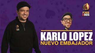 PokerBros, Karlo López nuevo embajador. #Pokerbros #Poker #Magopoker