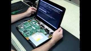 LCD - Flat cable com defeito