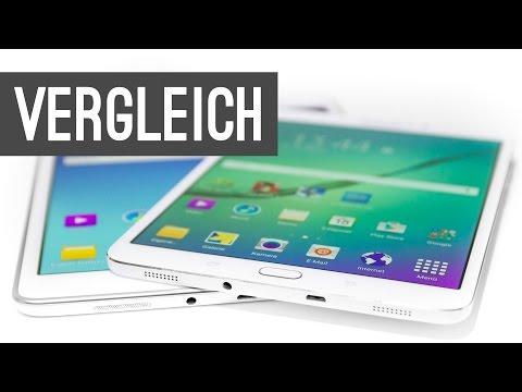 Samsung Galaxy Tab S2 vs. Galaxy Tab A Vergleich | Deutsch