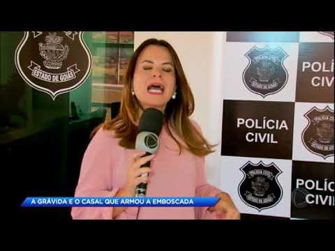 Casal que matou grávida e carbonizou o corpo em Goiás é preso