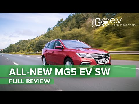 All New MG5 EV Station Wagon - First Look and Review