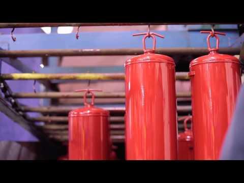 Making Steel Extinguishers