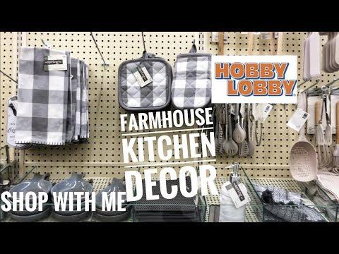 NEW  2019 HOBBY LOBBY KITCHEN FARMHOUSE DECOR