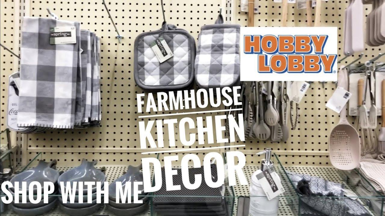 New 2019 Hobby Lobby Kitchen Farmhouse Decor Youtube