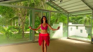 КАК Учить Танец Живота. ТРЯСКА НА ХОДУ БЕДРЕННАЯ.