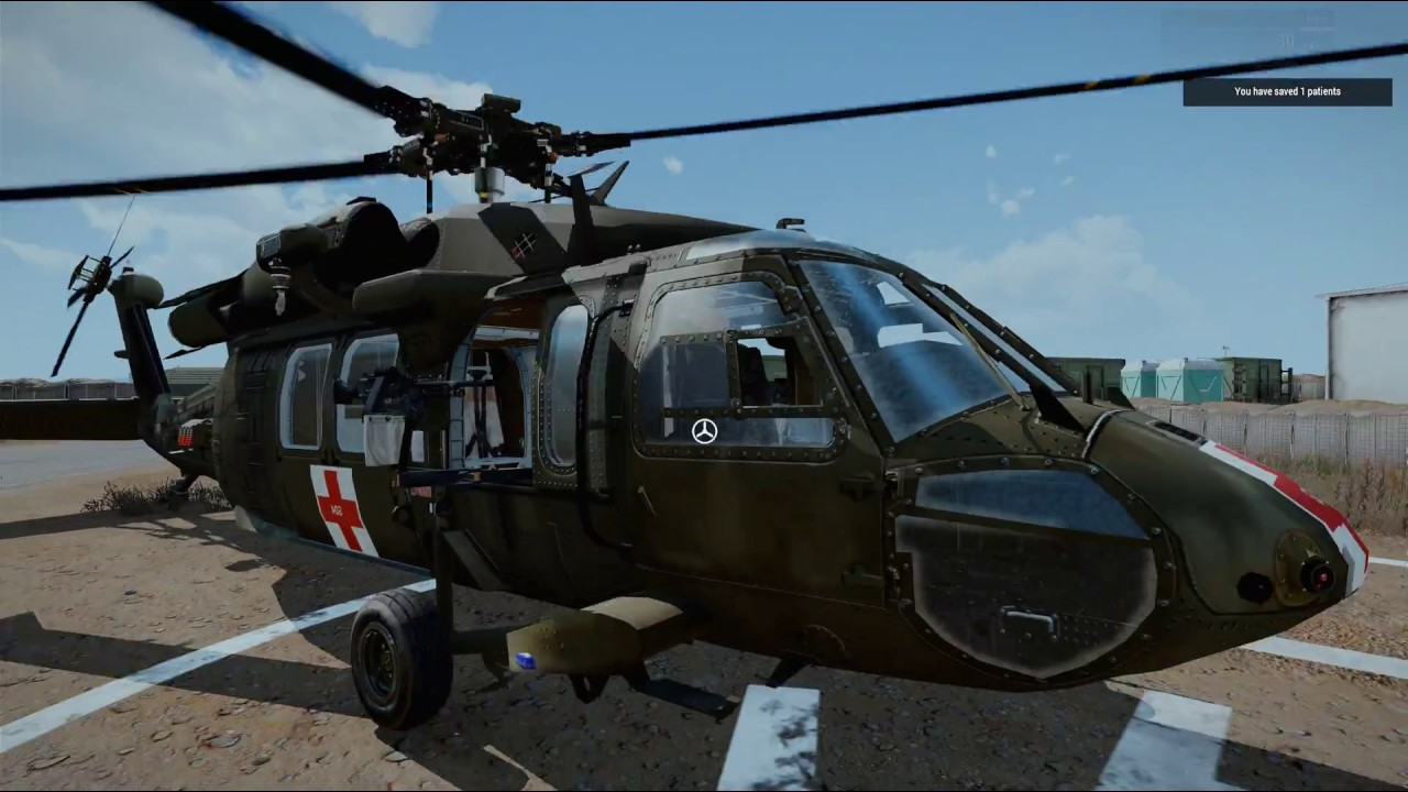 ARMA 3 Helicopter Pilot: Altis (Saint 4-1) MEDEVAC