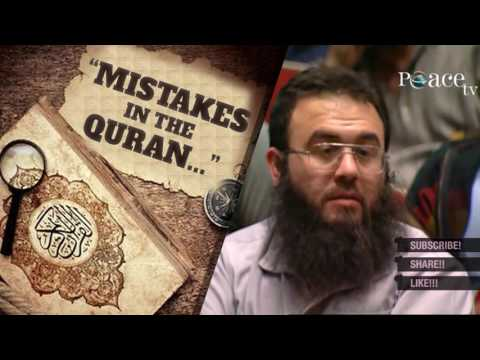 mistakes in the Quran. ┇ Zakir Naik best answer ┇ IslamSearch.org