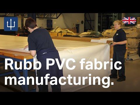 Rubb PVC fabric manufacturing