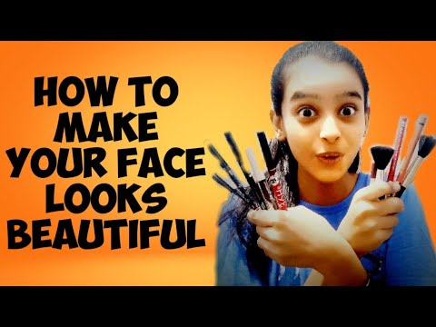 How to make your face looks beautiful - Funny makeup tutorial - Funny make challenge