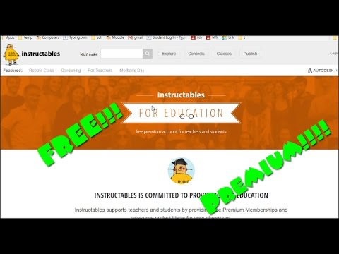Free Instructables Premium Account Youtube