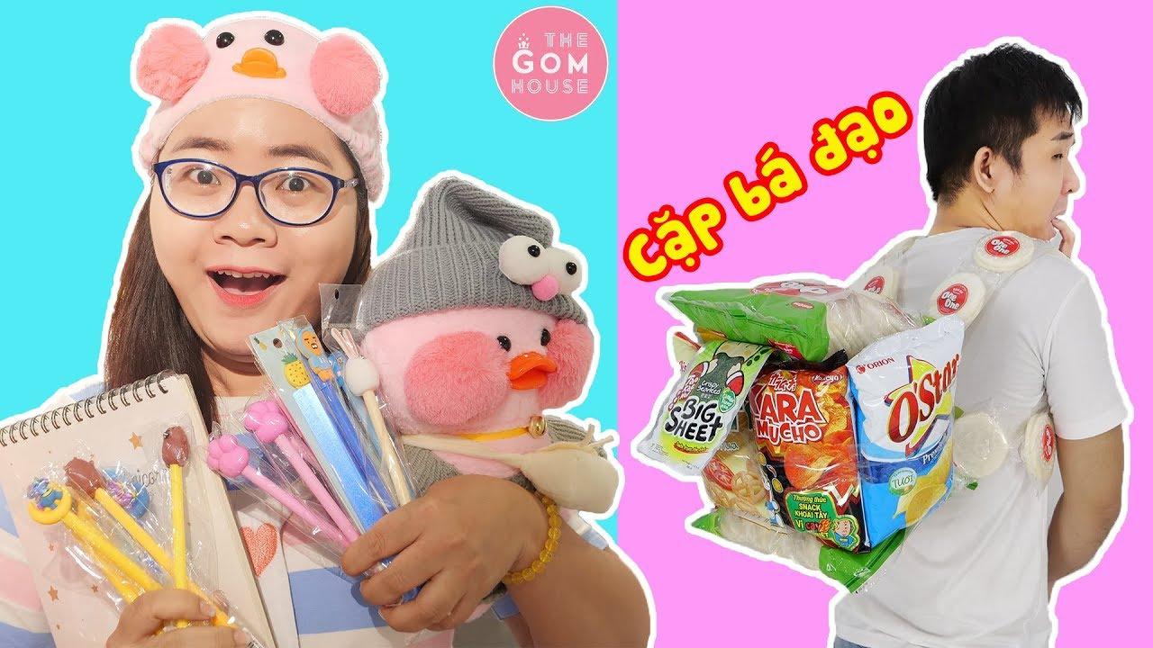 Ăn Vụng Hubba Bubba – Chiếc Cặp Bánh Kẹo Thời Trang Của Học Sinh Bá Đạo
