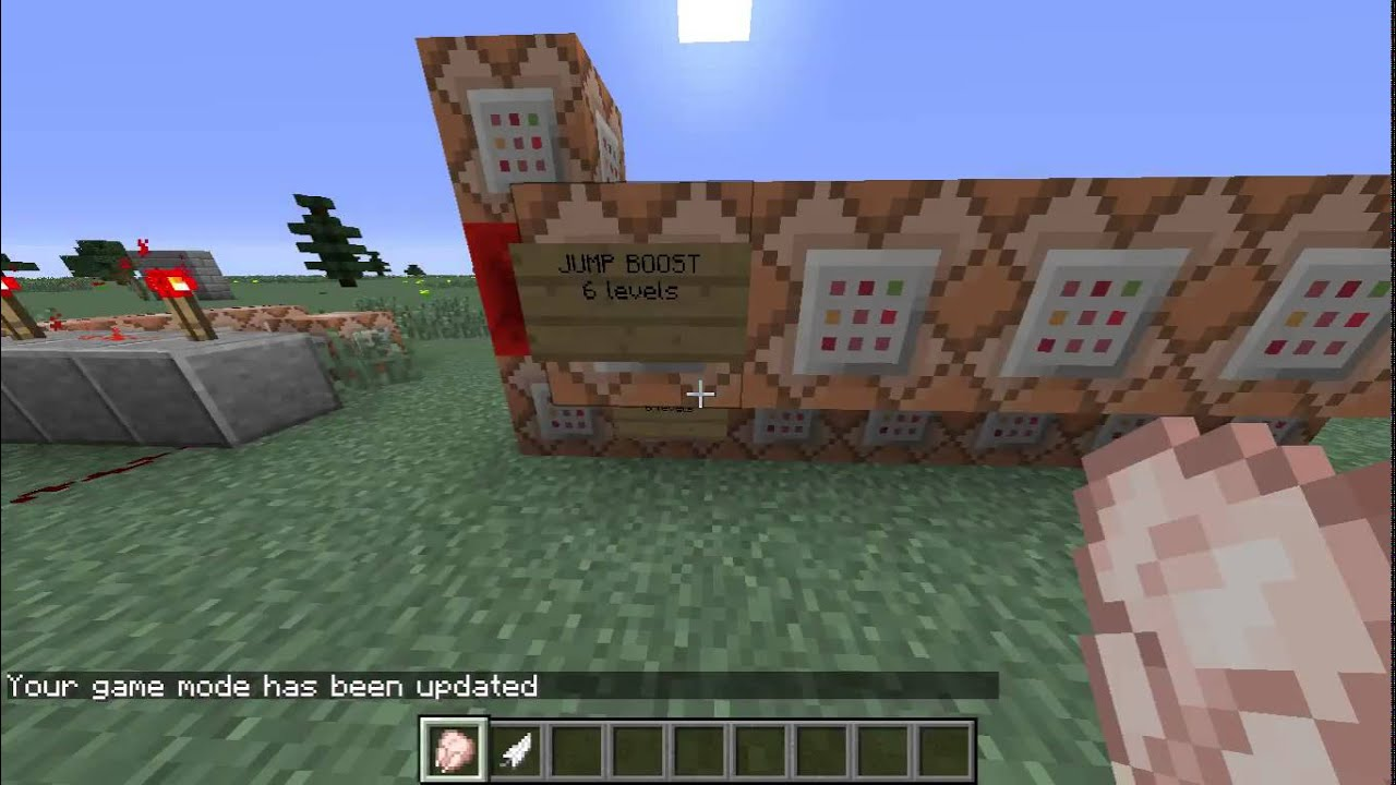 Minecraft: XP Stats System (w/ Command Blocks)