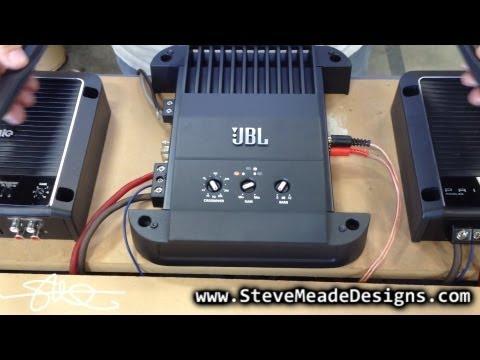 JBL GTO-501EZ Mono Amplifier vs. SMD Distortion Detector DD-1 (Results / opinion)