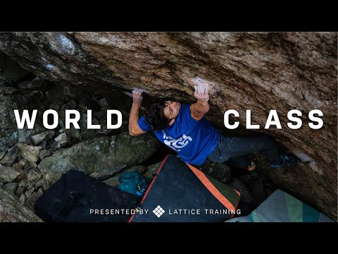 World Class: The Story of Aidan Roberts' Bouldering Breakthrough