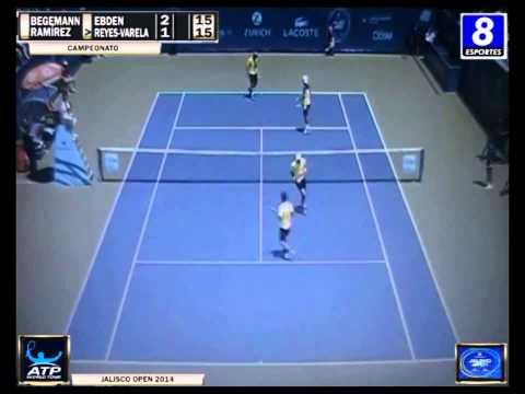 Cesar Ramírez / M. Reyes Varela vs Andre Begemann / Matthew Ebden - Final Jalisco Open 2014 - Set 1