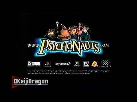 Psychonauts | TV CM | (60FPS) [VHS / 2005]