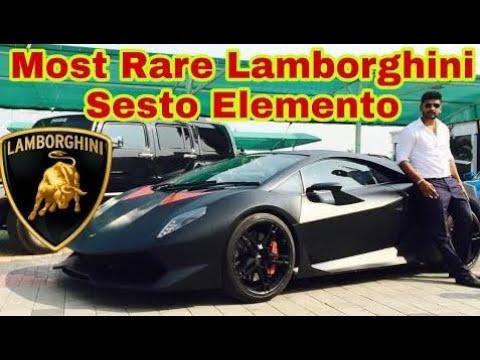 Most Expensive Rare Lamborghini Owner In India Lamborghini