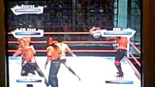 wwe elimination chamber match smackdown vs raw 2009 featuring Evan Bourne