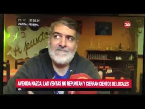 Informe CANAL 26: Av. Nazca, el símbolo del comercio al aire libre sufre la peor crisis