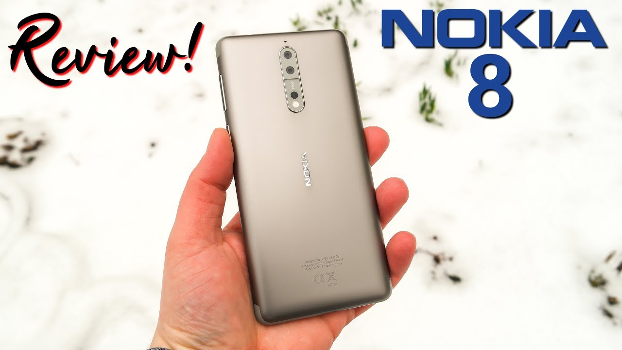Nokia 8 Review Schnelle Android Updates Und Bothie Deutsch
