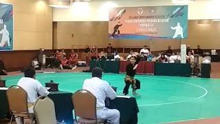 Juara 1 Tunggal Putra Pencak Silat DKI Jakarta POPWIL Wilayah 2 Tahun 2018
