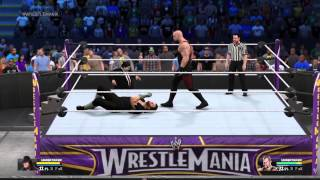 WWE 2K15 Undertaker vs Undertaker