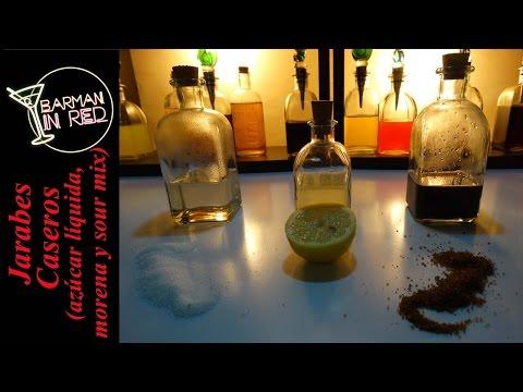 Jarabes Caseros (para bebidas) - Tutorial 1