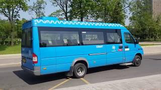 Автобус 533  - остановка у метро на ВДНХ