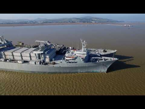 Suisun Bay Reserve Fleet: Mothball fleet