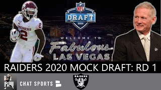 Raiders Draft Rumors: Latest 2020 NFL Mock Draft Has The Las Vegas Raiders Going Offense & Defense
