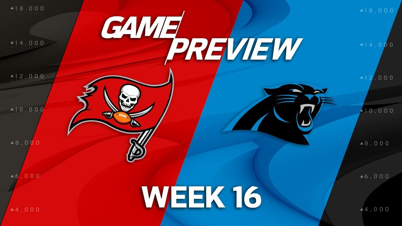 Image result for Tampa Bay Buccaneers vs. Carolina Panthers