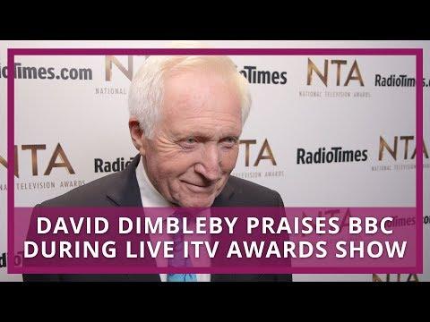 NTA winner David Dimbleby praises BBC during live ITV awards show