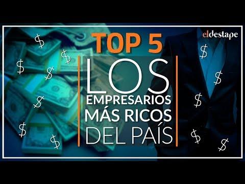 Los empresarios MÁS RICOS de Argentina - TOP 5